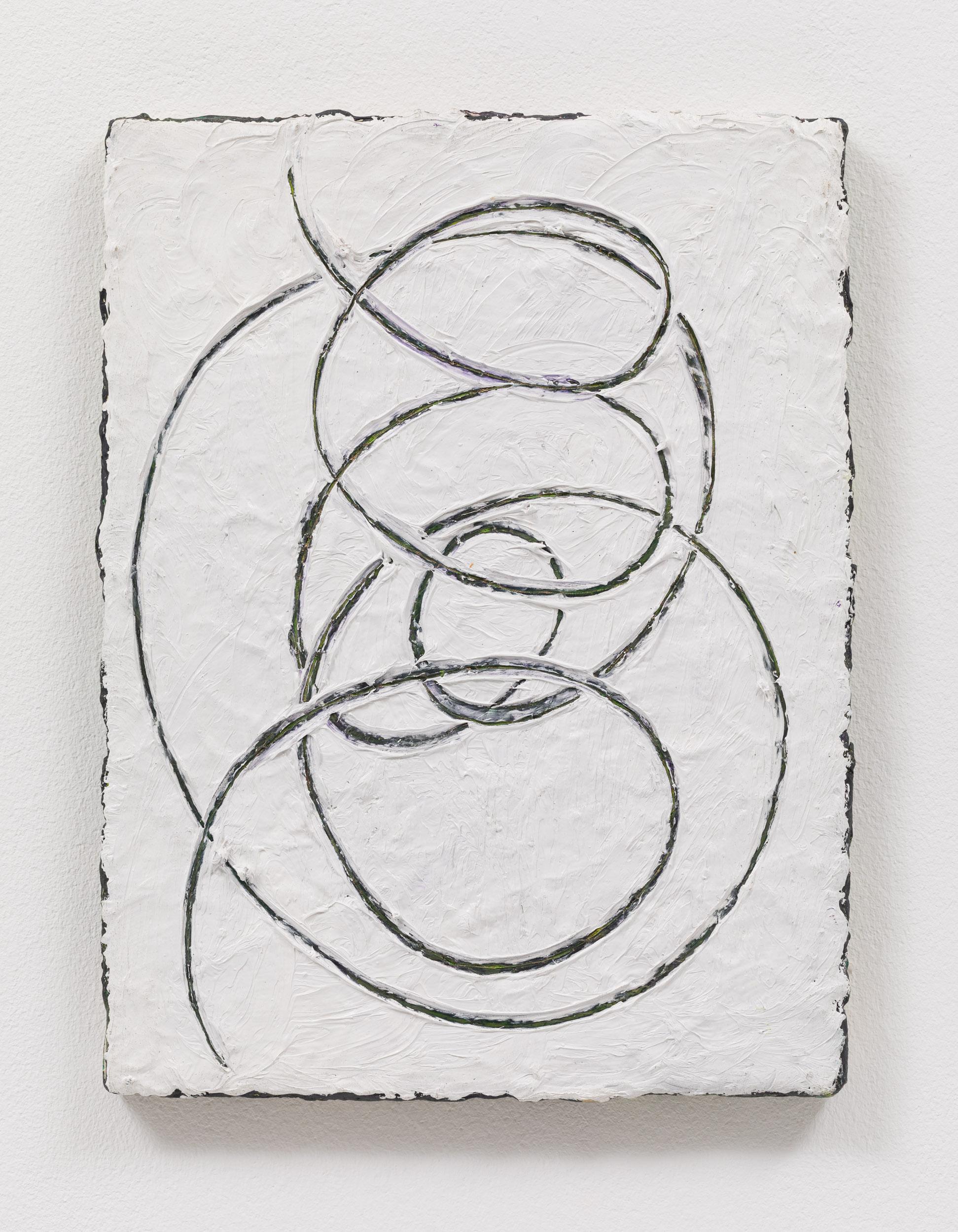 Weiss, 2018, 40x30cm, Öl auf Leinwand