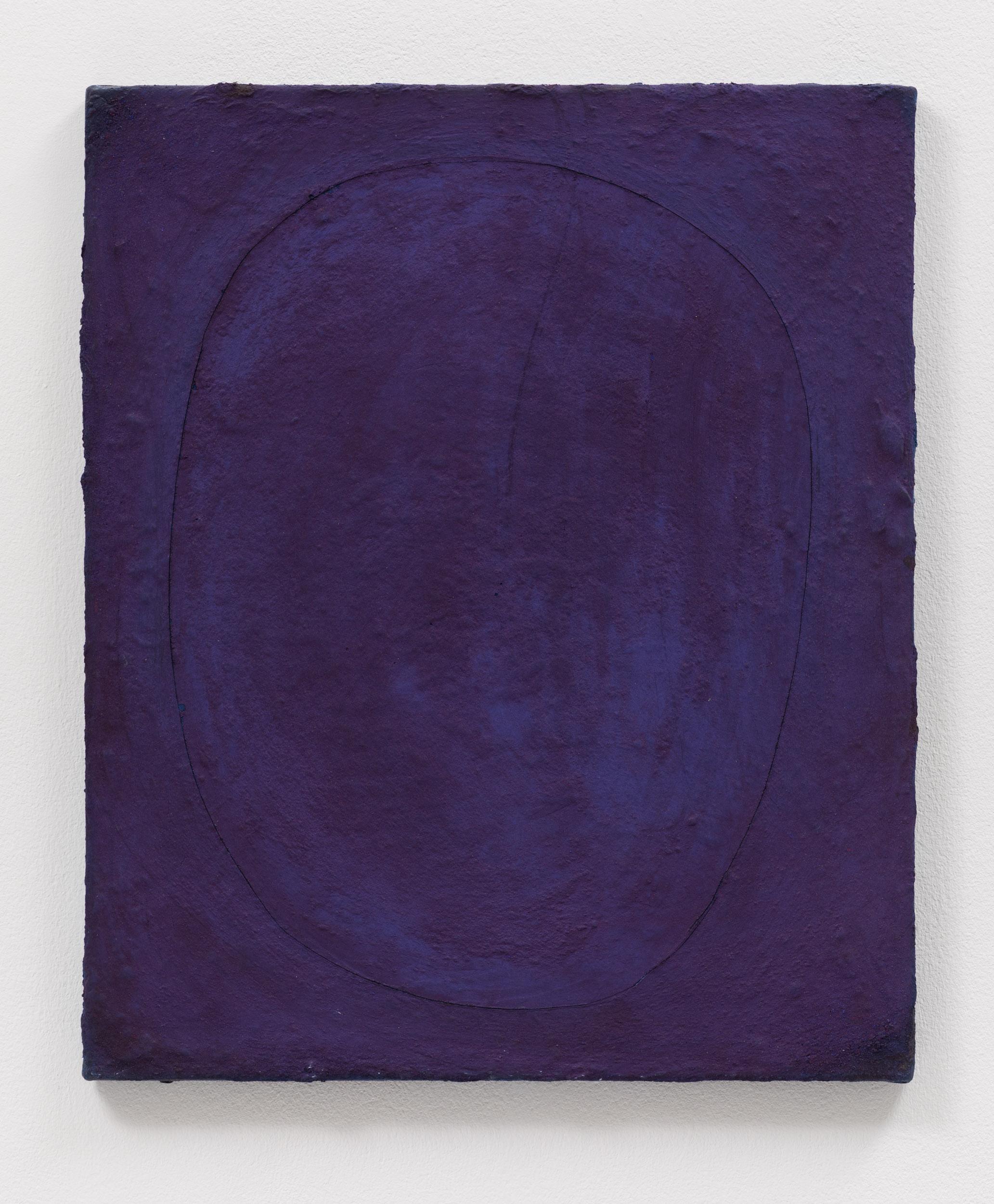 Toujours, 2019, Öl/Pigment auf Leinwand, 60x50cm